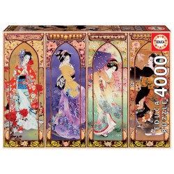 Puzzle Educa Japanische Collage 4000T