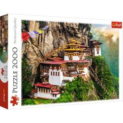 Puzzle Kloster von Taktsang Tigers Nest Bhutan 2000T