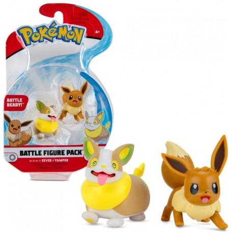 Pokemon Battle Figure Pack Mini Figur Evoli und Voldi Serie 8