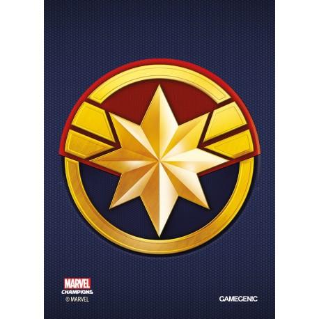 MARVEL CHAMPIONS art sleeves Captain Marvel