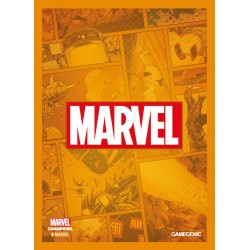 MARVEL CHAMPIONS art sleeves Marvel orange
