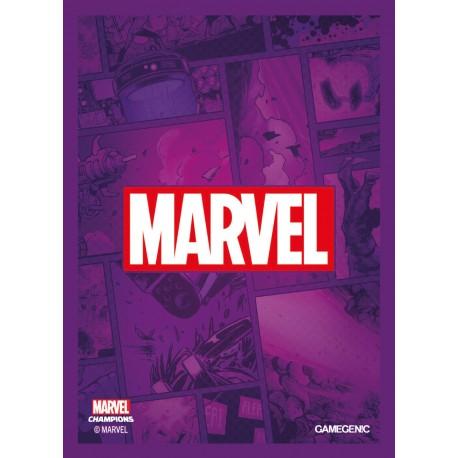 MARVEL CHAMPIONS art sleeves Marvel Purple