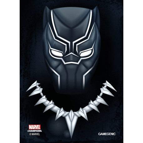 MARVEL CHAMPIONS art sleeves Black Panther