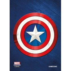 MARVEL CHAMPIONS art sleeves Captain America