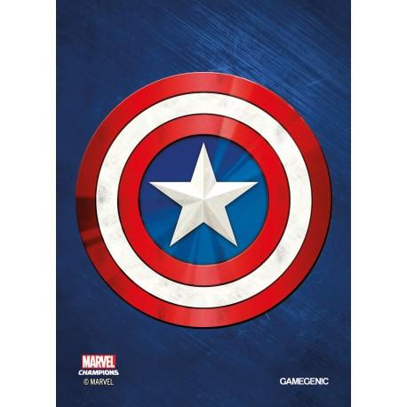 MARVEL CHAMPIONS art sleeves Captain America