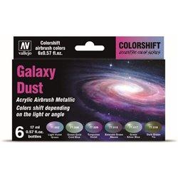 Galaxy Dust Acrylic Airbrush Metallic - 6 Farben
