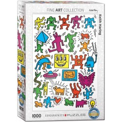 Puzzle Collage by Keith Haring 1000T 6000-5513