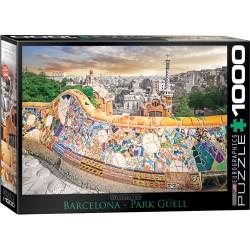 Puzzle Barcelona Park Güell 1000T 6000-0768
