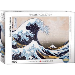 Puzzle Great Wave of Kanagawa 1000T 6000-1545