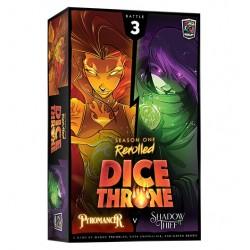 Dice Throne S1 Box 3 Pyromancer v Shadow Thief