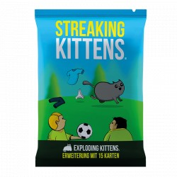 Exploding Kittens Streaking Kittens Erweiterung dt.