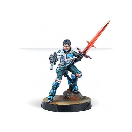 Infinity CodeOne Shona Carano Aristeia Swordmaster (Submachine gun)