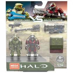 Mega Construx Halo Infinite Master Chief vs. Brute Warrior