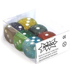 Würfel Glitter W06 Set
