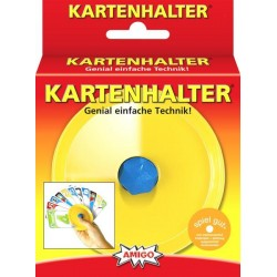 Kartenhalter gelb oder blau