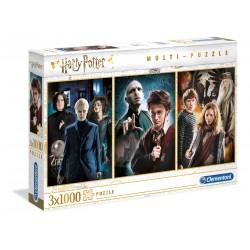 Puzzle Harry Potter 3x 1000T