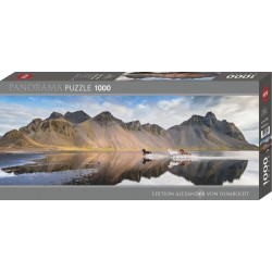 Puzzle Iceland Horses 1000T Panorama