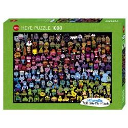 Puzzle Doodle Rainbow 1000T