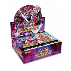 YGO Kings Court Booster Display dt.
