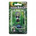Wardlings Painted RPG Figures Boy Warlock & Lizard