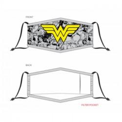 Wonder Woman Adjustable Gesichtsmaske