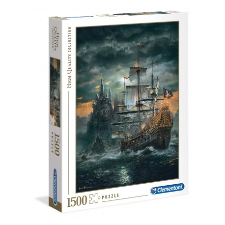 Puzzle The Pirate Ship 1500T