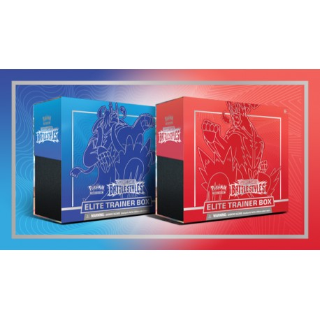 Pokemon Elite Trainer Box Sword & Shield Battlestyles ENG