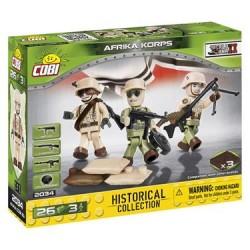 COBI 30PCS HC WWII 2034 AFRIKA KORPS