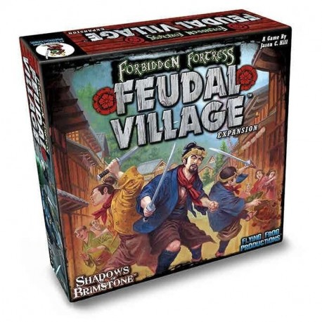 Shadows of Brimstone Feudal Village Expansion