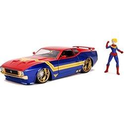 Captain Marvel Ford Mustang 1973 1:24