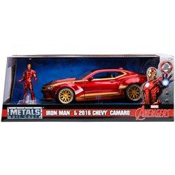 Marvel Ironman 2016 Chevy Camaro SS 1:24