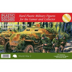 PSCWW2V20006 20mm WWII (German) Easy Assembly Sdkfz 251/D Half track