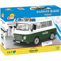 COB 157 PCS YOUNGTIMER /24596/ BARKAS B1000 POLIZEI