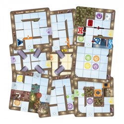 Magic Maze: 9-Tile Pack [Expansion]