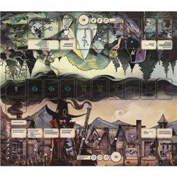 Pagan: Schicksal von Roanoke – Spielmatte