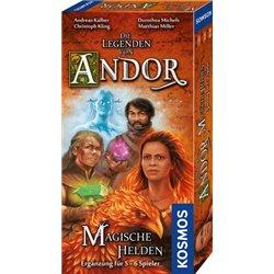 Andor – Magische Helden: Ergänzung 5-6 Spieler [Erweiterung]