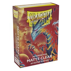 Dragon Shield: Outer Sleeves Japanese Size – Matte (100)