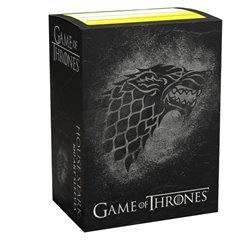 Dragon Shield: Brushed Art: Game of Thrones - House Stark (100)