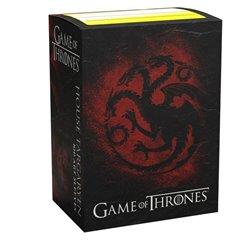 Dragon Shield: Brushed Art: Game of Thrones - House Targaryen (100)
