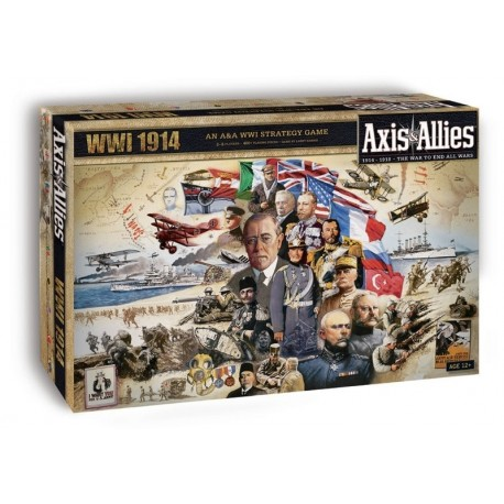 Axis & Allies Worldwar 1: 1914