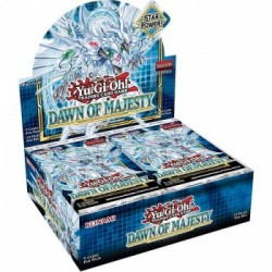 YGO Dawn of Majesty Booster Display dt.