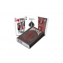 Playing Cards Bicycle Metalluxe Red