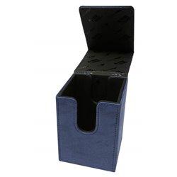 Sapphire Suede Alcove Flip Deck Box