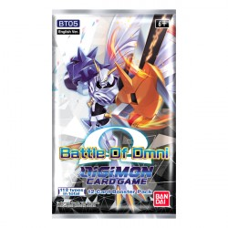 Digimon Battle Of Omni Single Booster