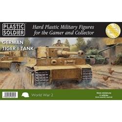 Plastic soldier German Tiger I Tank 15mm