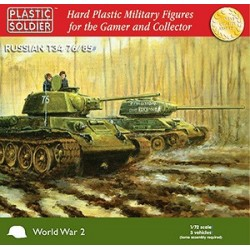 Plastic Soldier 1/72nd T34 76/85