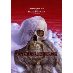 Lamentations of the Flame Princess Adventure Anthology Blood