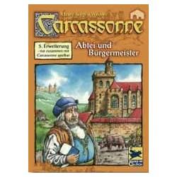 Carcassonne Erw. 5 Abtei & Bürgermeister