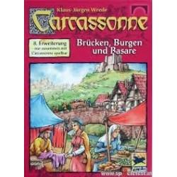 Carcassonne Erw. 8 Brücken, Burgen & Basare