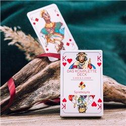 Gendergerechtes Kartendeck (Einzel-Romme)